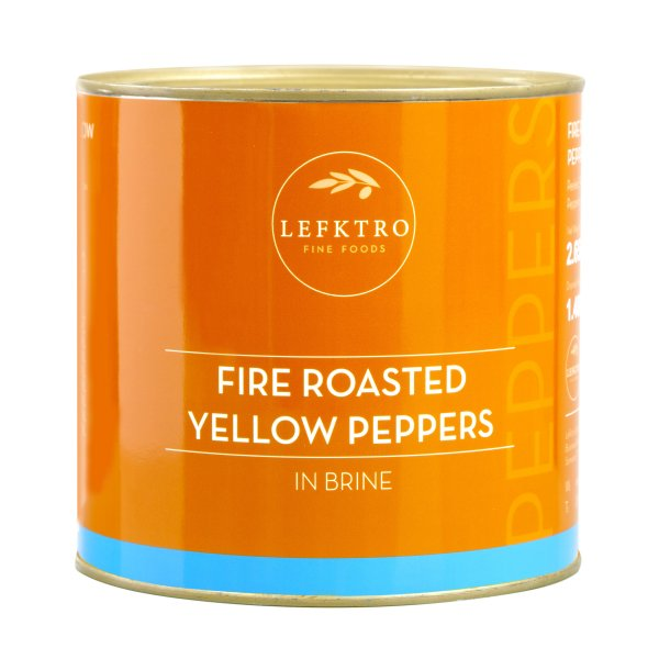 Fire Roasted Yellow Peppers
