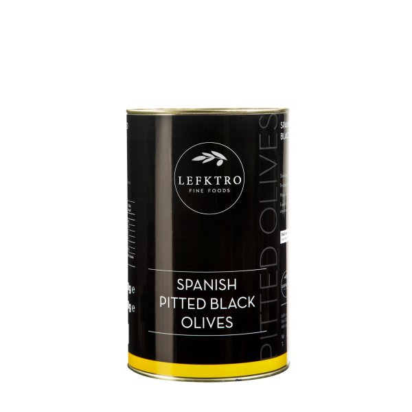 Spanish Pitted Black Olives