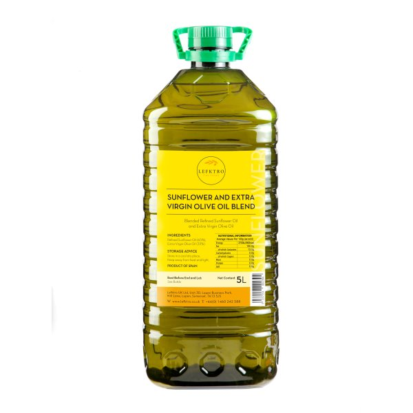 Lefktro Sunflower Extra Virgin Olive Oil Blend